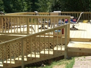 Large Deck - After