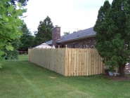 Privacy Fence with Gazebo