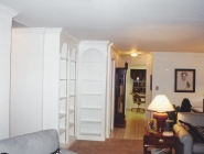 Custom Built-in Shelving