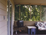Screened Porch with Interior Photos