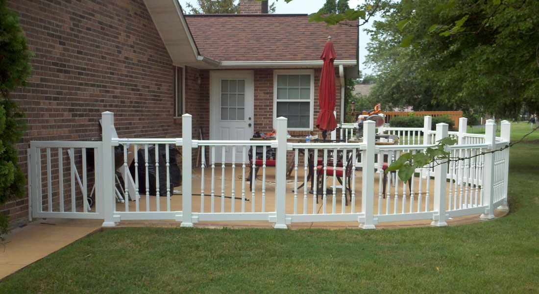 Patio Railing   After